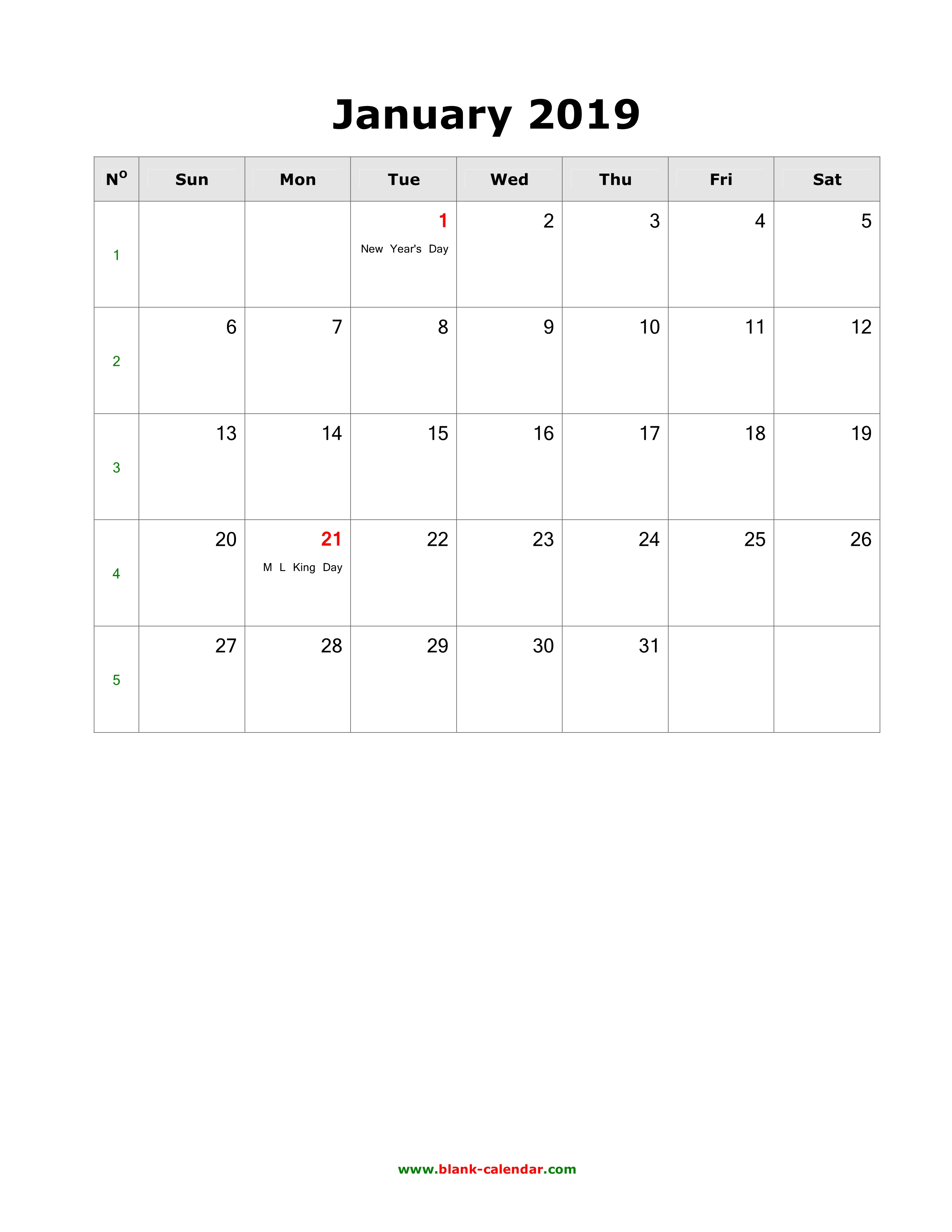 Blank Calendar With Us Holidays : Download blank calendar with us holidays pages