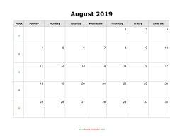 june july august 2019 calendar template
