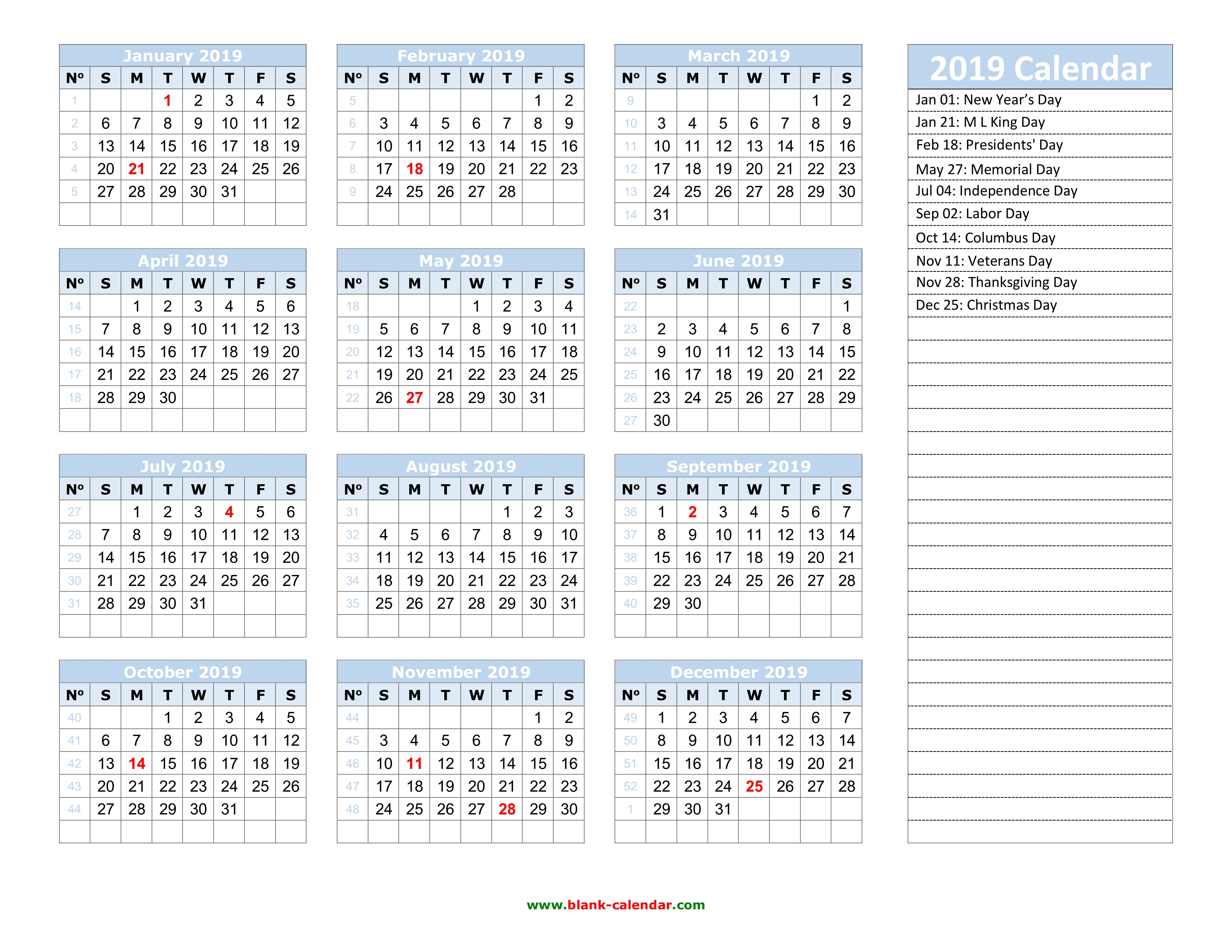 yearly calendar 2019 template 03 docx pdf jpg yearly calendar 2019 template 04