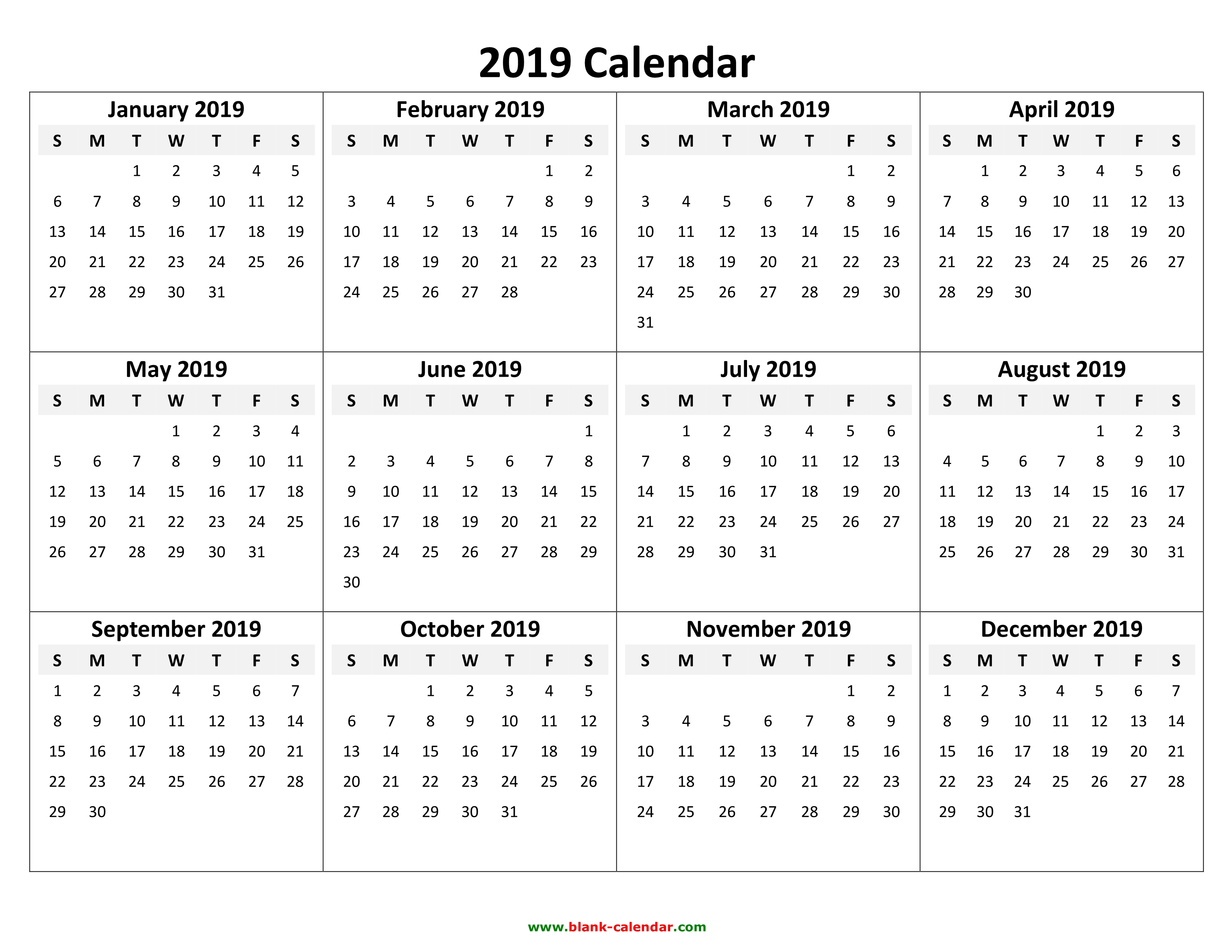 yearly calendar 2019 template 05 docx pdf jpg yearly calendar 2019 template 06