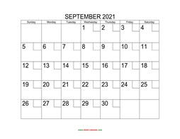 printable september 2021 calendar check boxes