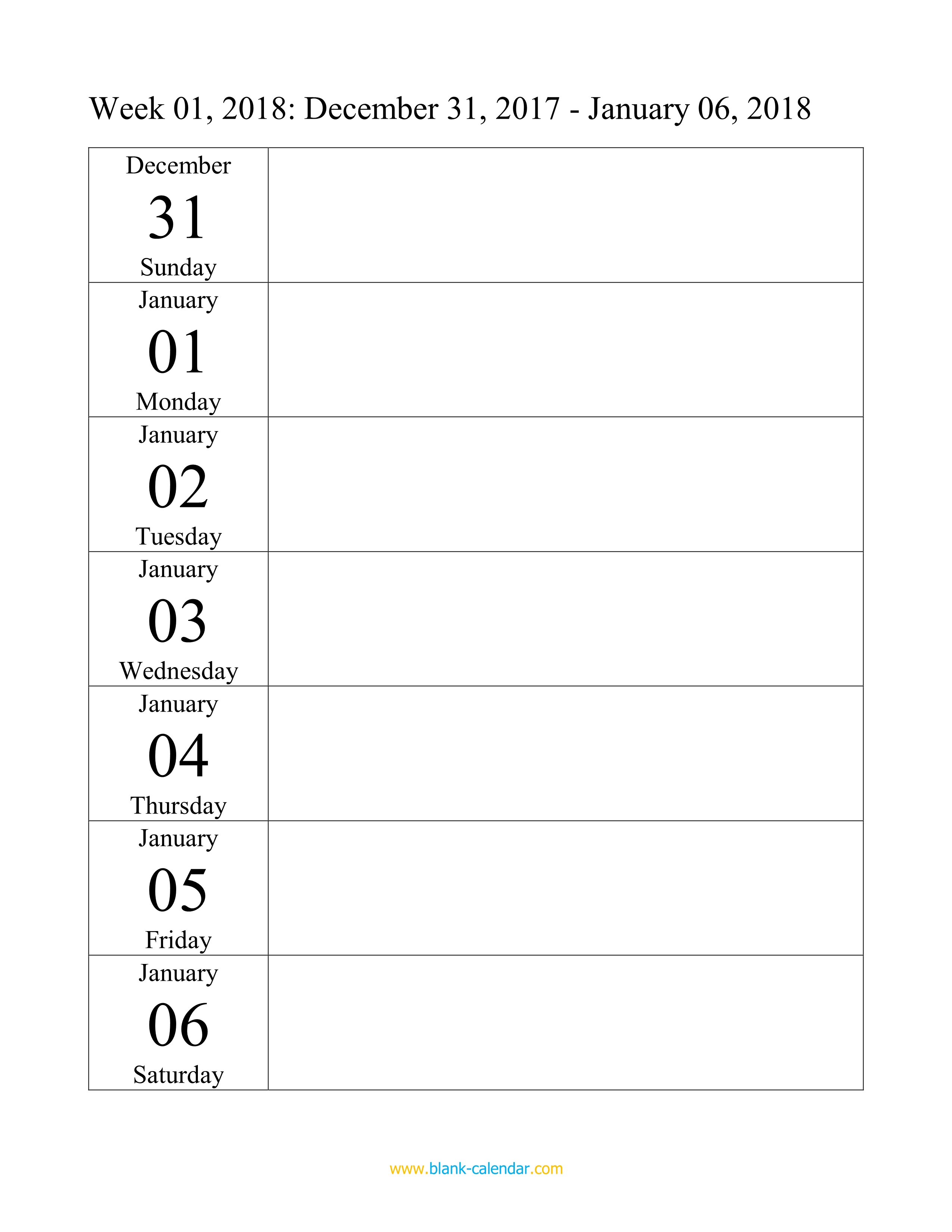 Weekly Calendar Doc : Weekly calendar word excel pdf