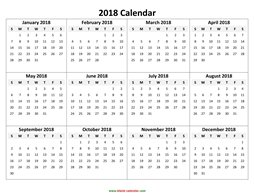 yearly calendar 2018 template 05